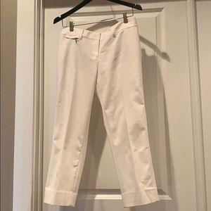 WHBM Perfect Form Crop Leg pants, size 6